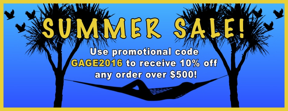 KTA Gage Summer Sale