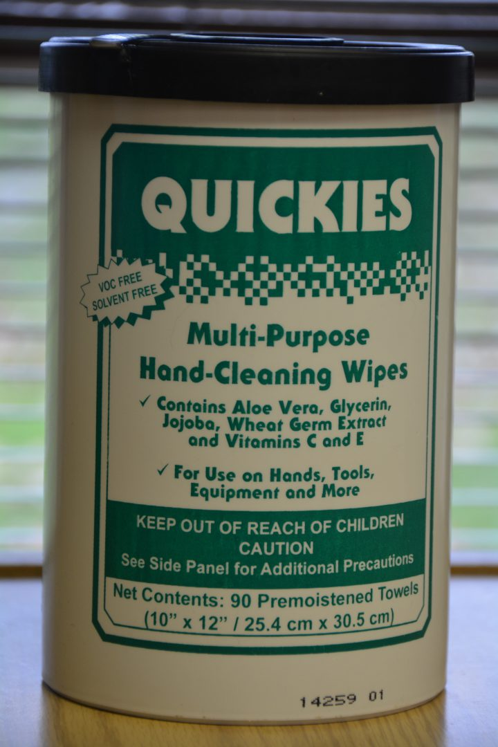 Quickies Hand Cleaning Wipes