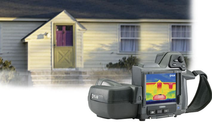 FLIR T420bx Thermal Imaging Camera
