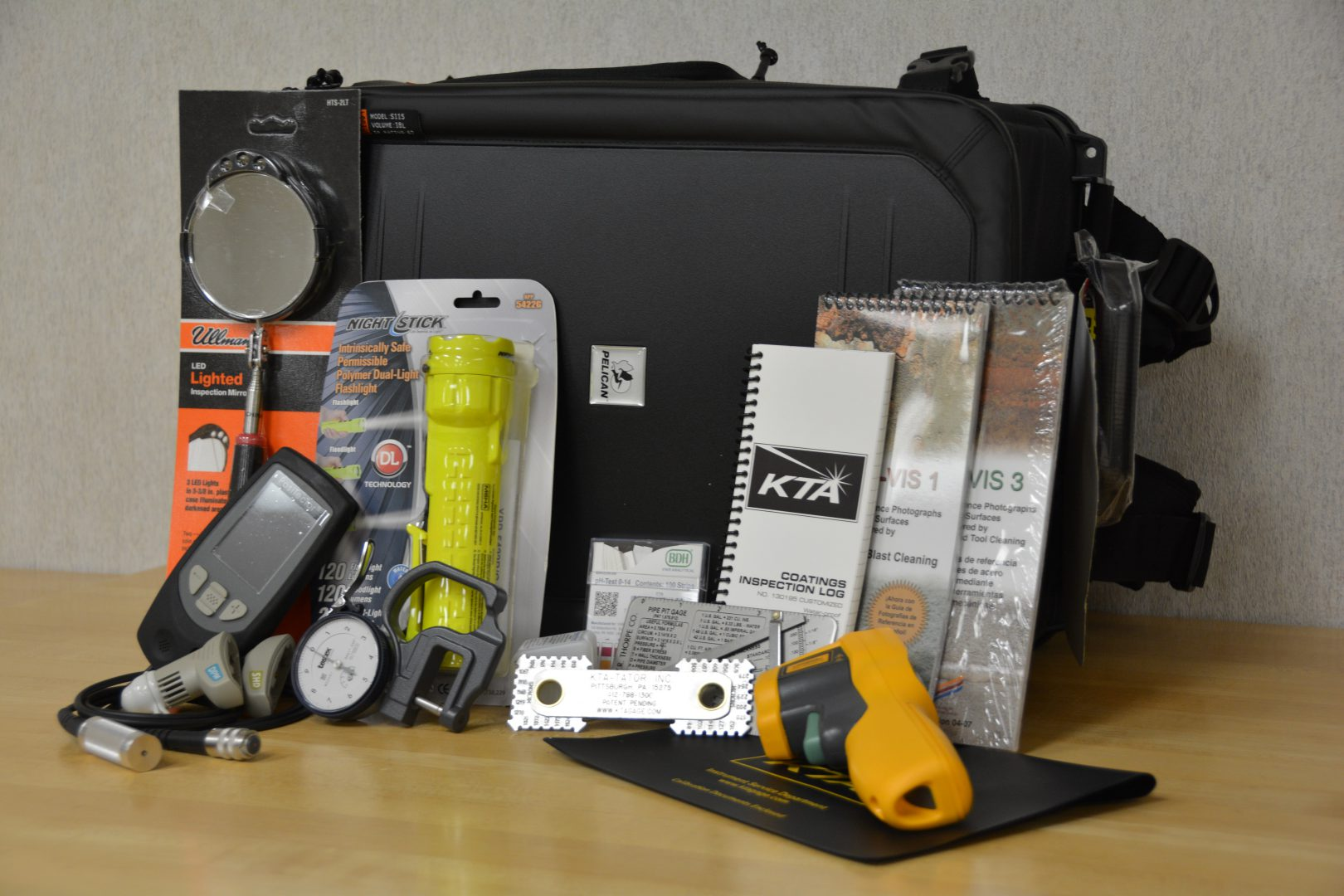 KTA Pipeline Backpack Inspection Kit