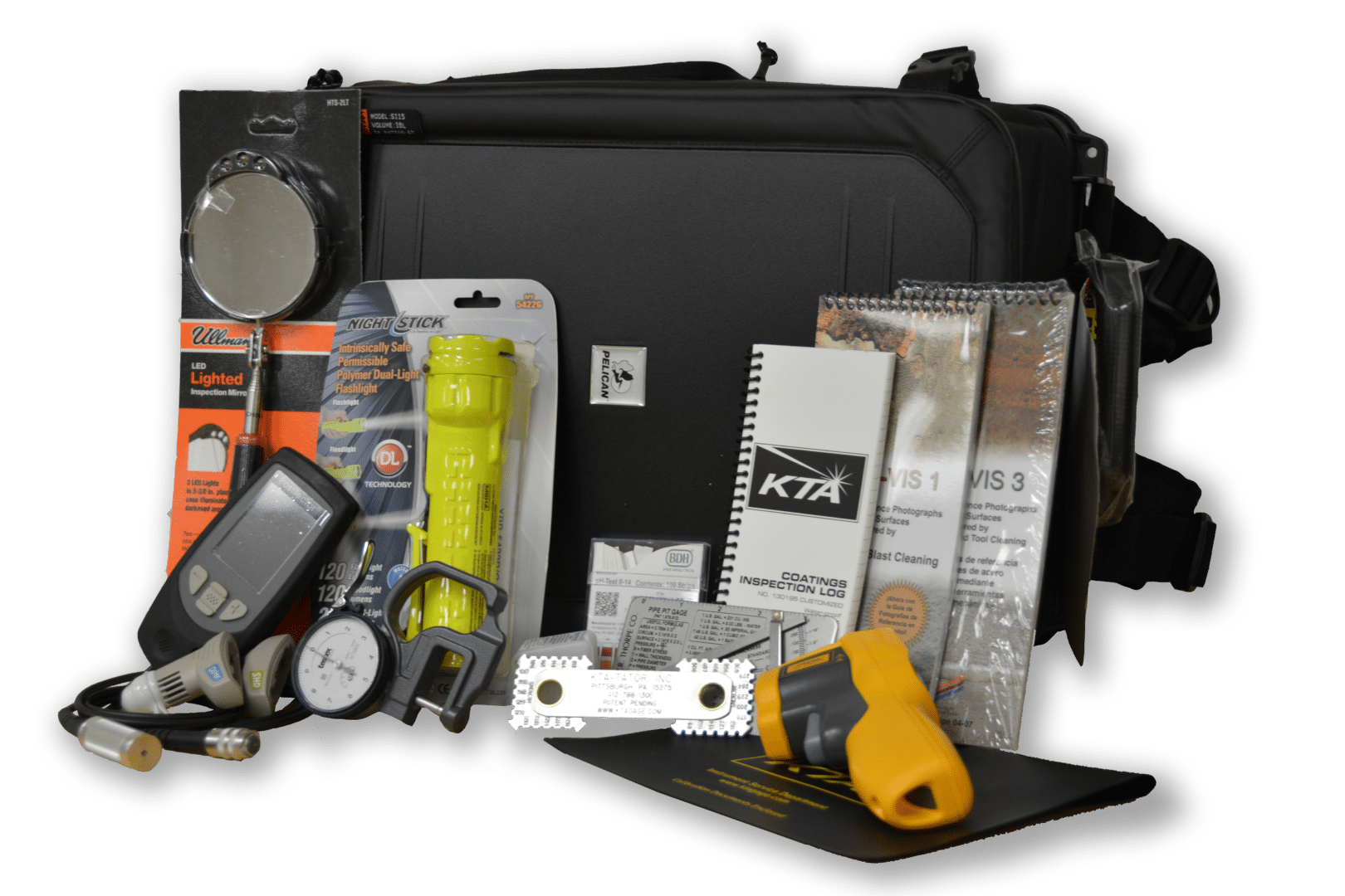 pipeline inspection kit