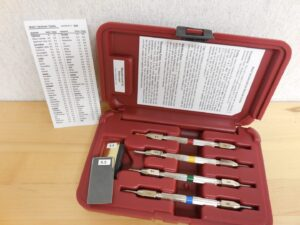 Mohs Concrete Surface Hardness Scratch Test Kit