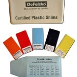certified plastic shims