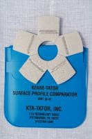 Keane-Tator Surface Profile Comparator