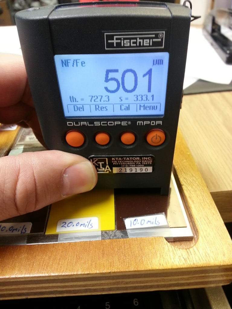 Fischer Dualscope Coating Thickness Gauge