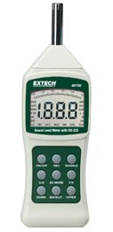 Extech Digital Sound Meter and Sound Calibrator