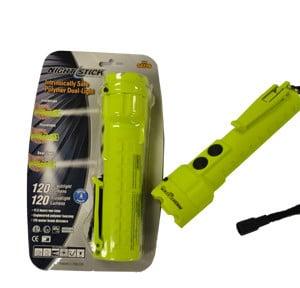 Intrinsically Safe Night Stick Polymer Dual Light