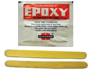 Hardman Double Bubble Fast Setting Epoxy