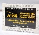 Aluminum Wet Film Thickness Gauges
