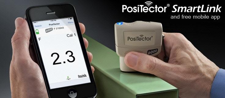 Positector SmartLink Coating Thickness Gauge
