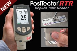 PosiTector RTR Replica Tape Reader