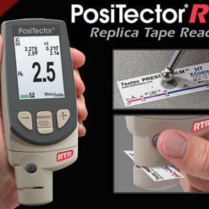 PosiTector RTR Replica Tape Reader