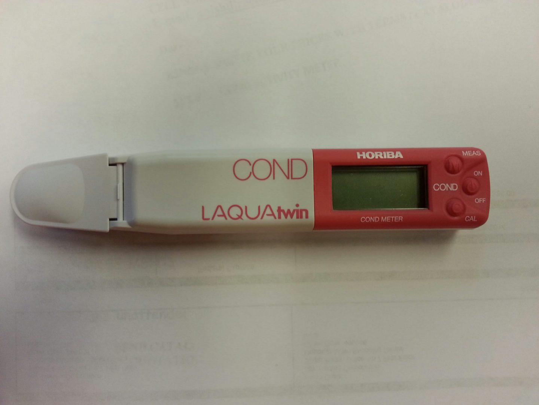 Horiba B 173 Conductivity Meter : Horiba laquatwin b conductivity meter kta gage