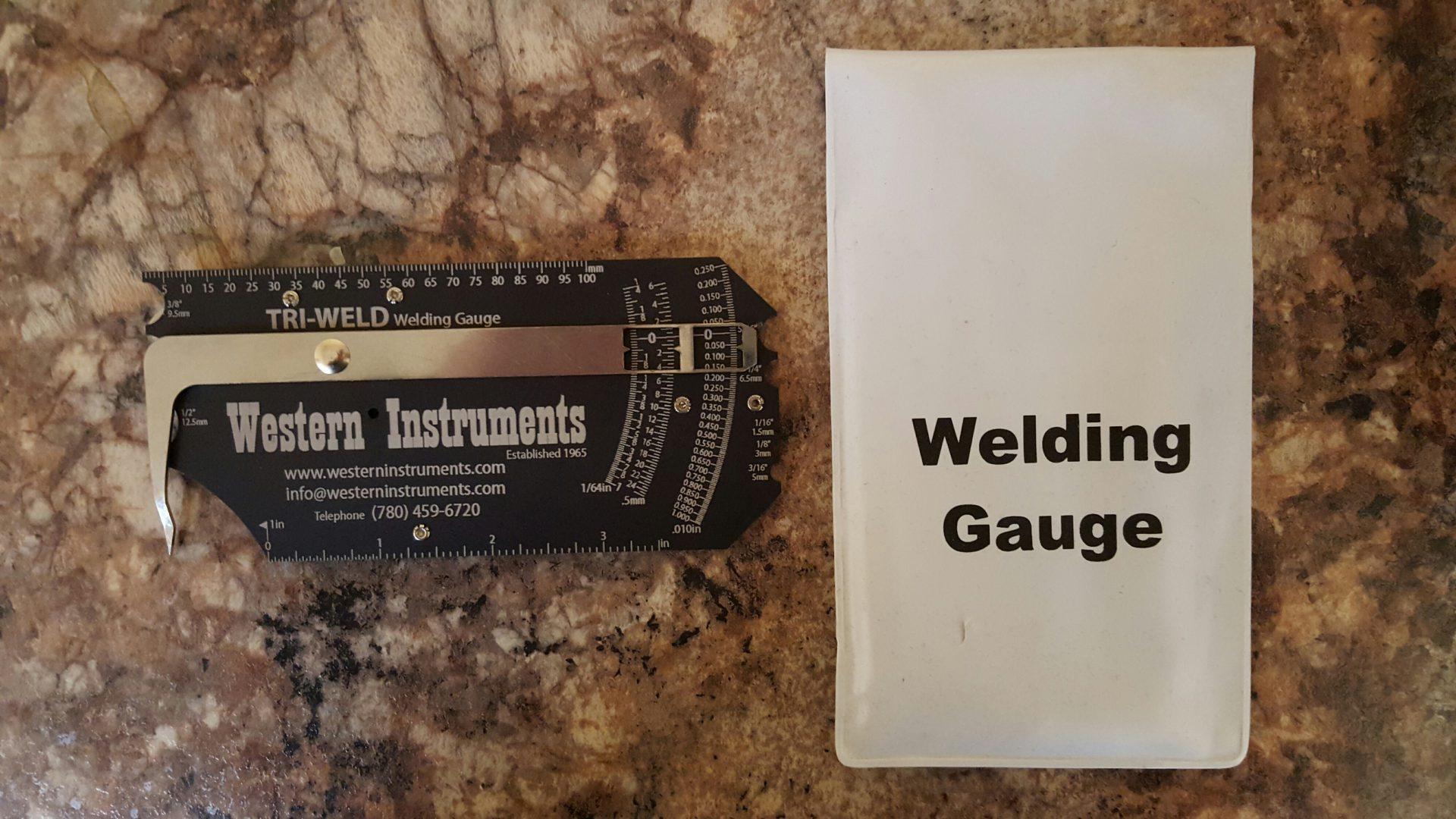Tri Weld Welding Gauge For Easy To Read Welding Amp Fit Up